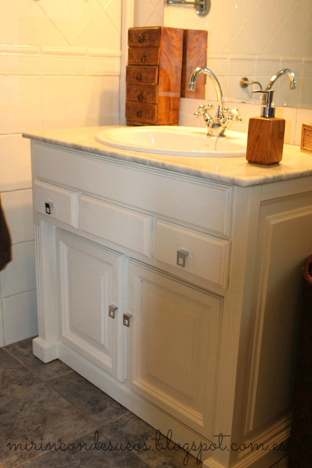 Restaurar Mueble De Bao Finest No S Porqu No Sali La Foto With  # Muebles De Bano Look