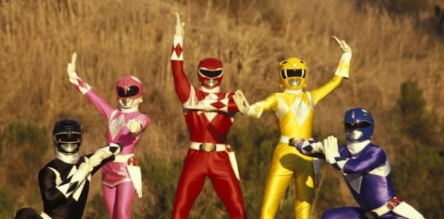 Reboot nuevamente para Power Rangers