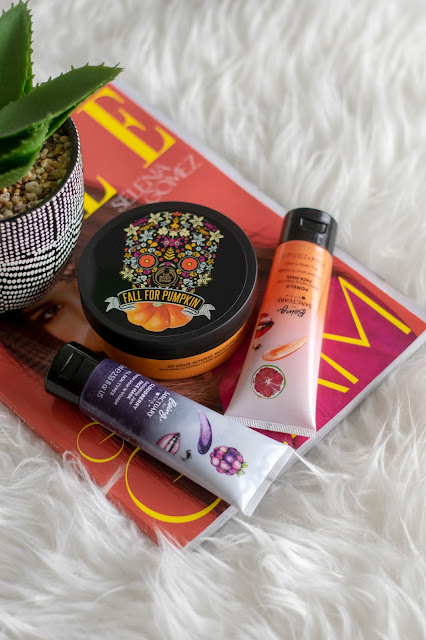 red magazine - The Body Shop Vanilla Pumpkin moisturiser - Being Sanctuary Masks