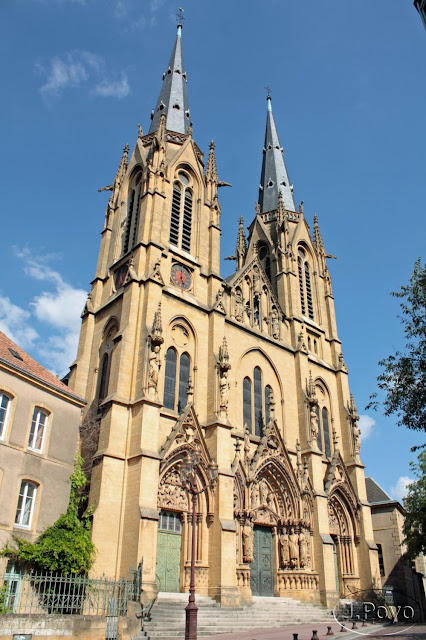 Iglesia se Sainte-Ségolène, Metz