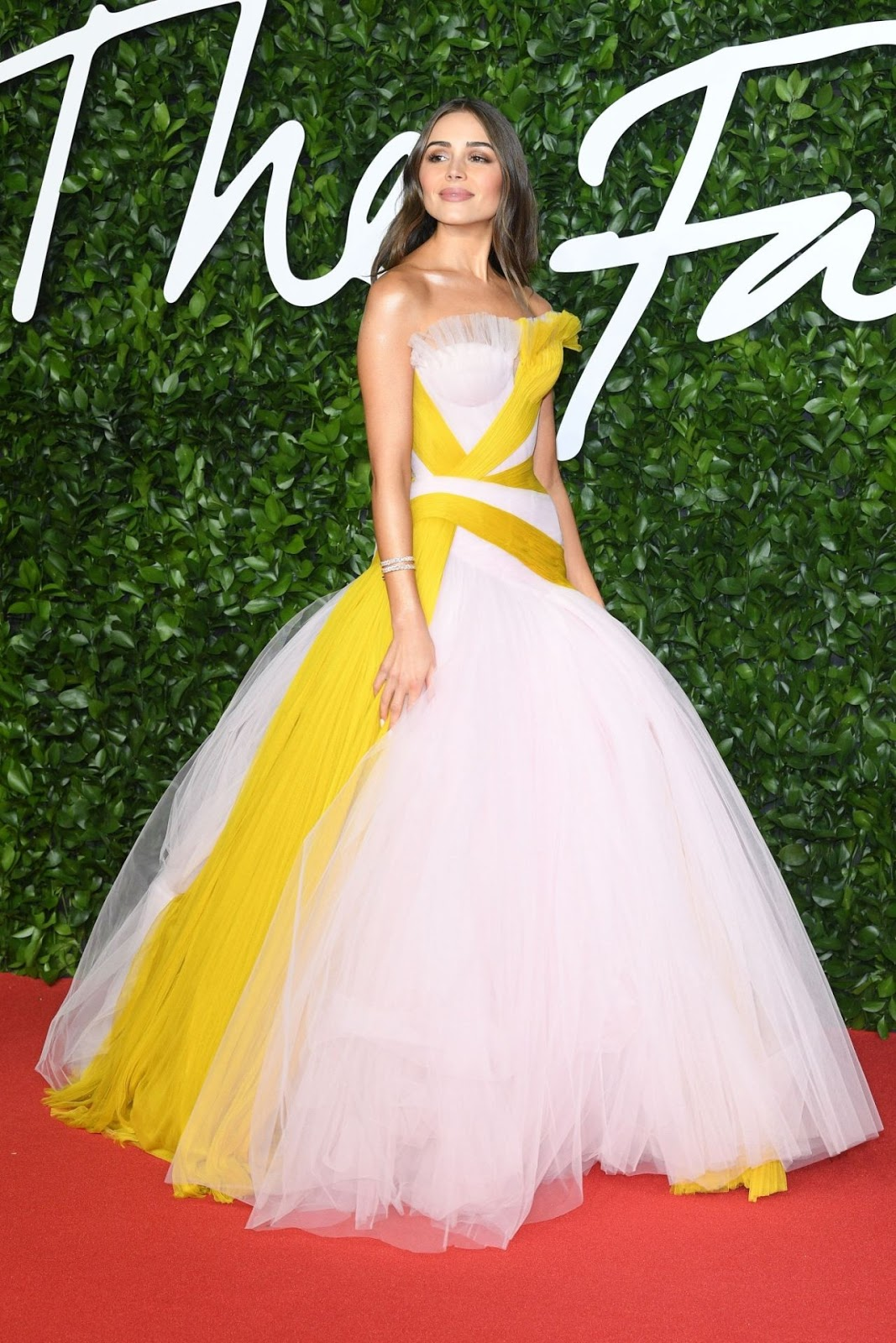 Olivia Culpo allures in Ralph & Russo at the 2019 British Fashion Awards