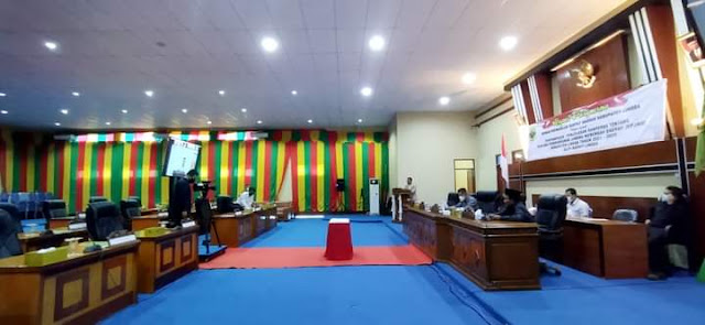 Gelar Rapat Paripurna, Ini Rekomendasi Gabungan Komisi DPRD kepada Pemkab Lingga