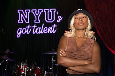 Ivie Ani as a Judge at NYU's Got Talent