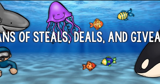 Oceans of Steals, Deals and Giveaways!