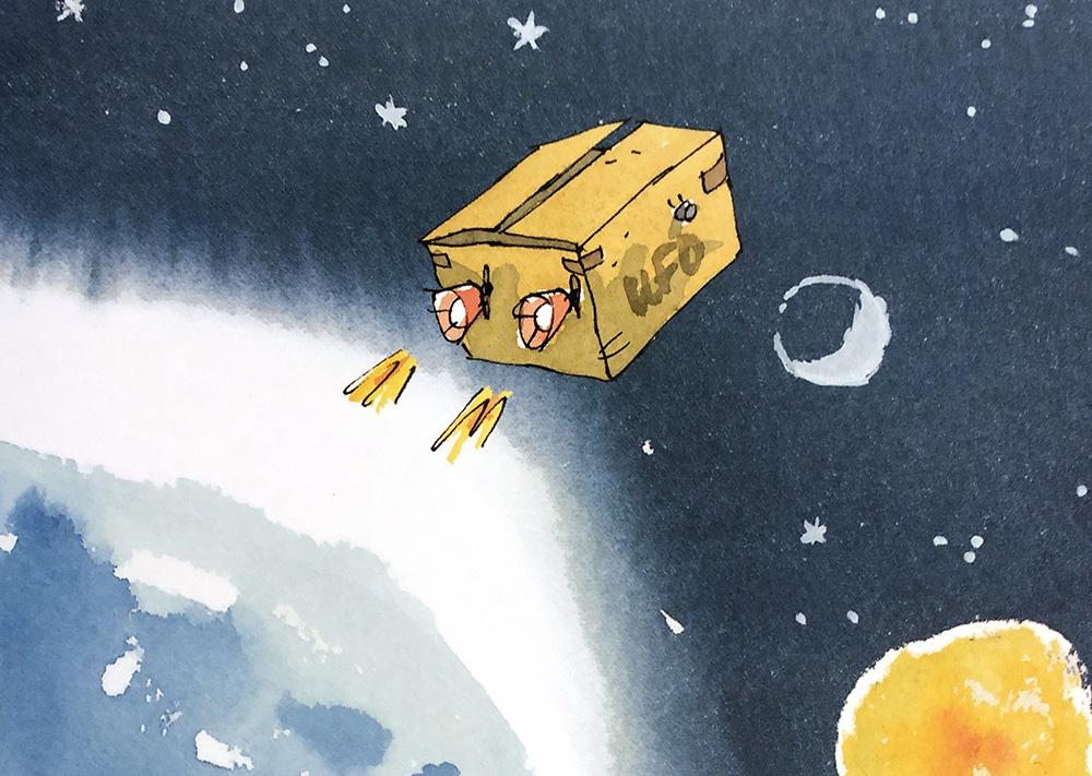Il bambino venuto da Marte