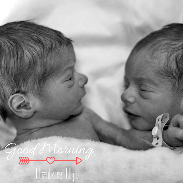 Two Baby Good Morning Images