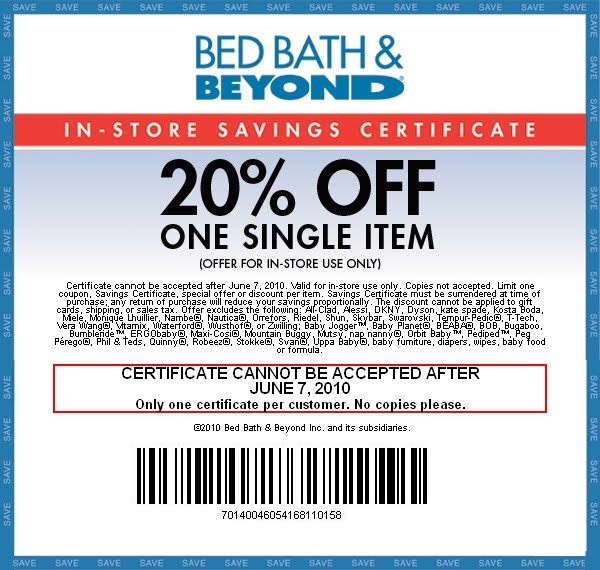 To Bed Bath And Beyond: My Free Coupon Class: Where Are The Bed Bath And Beyond
