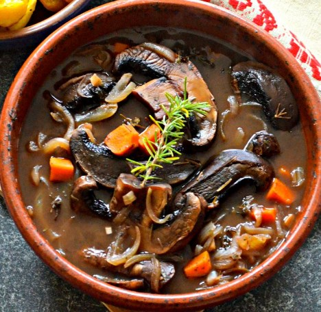 Vegan Portobello Pot Roast #vegetables #dinner
