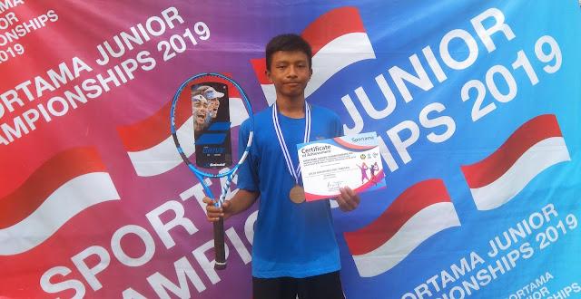 Inilah Para Kampiun Turnamen Tenis Yunior Sportama Jr Championships VIII