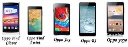 HP Oppo Android