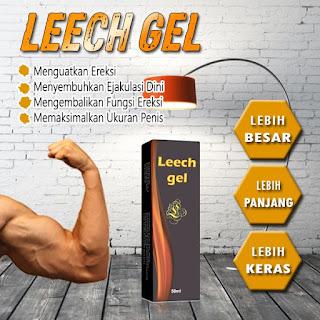 Leech Gel Obat Kuat Pembesar Penis Panjang Tahan Lama Asli Original