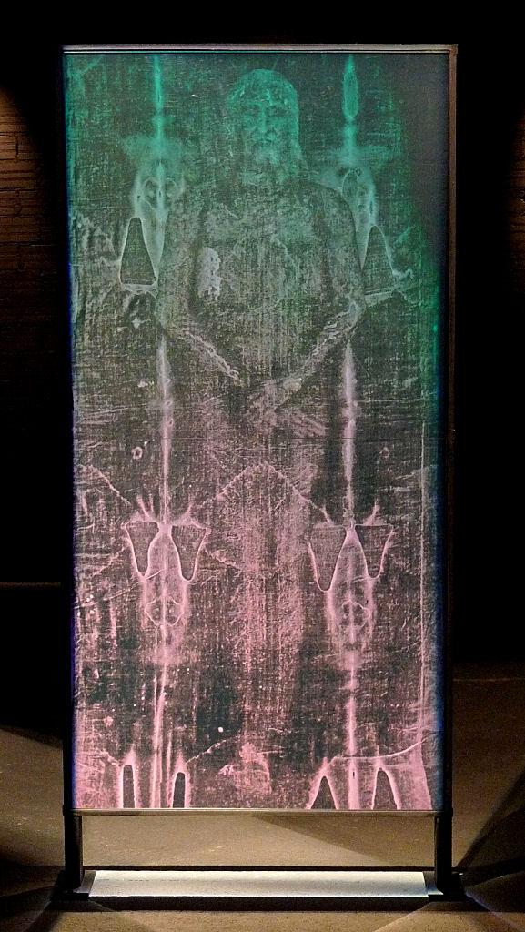 Imagem holográfica do Santo Sudário