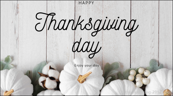 Happy Thanksgiving Day Images