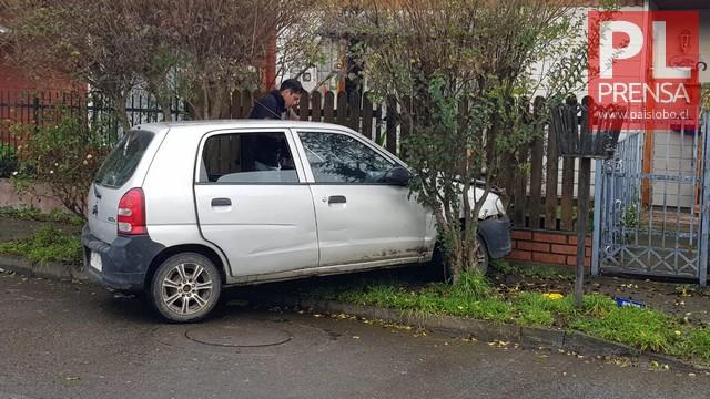 Osorno: accidente de tránsito en el sector de Rahue Alto
