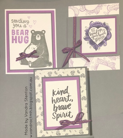 #CTMHVandra, cardmaking, Colour Dare Challenge, color dare, inspirational, bear hugs, Bear, Ribbon, keep your head up, #Ctmh,