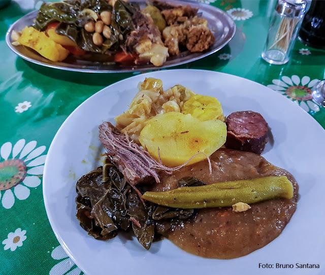 Cozido do Restaurante Mini Cacique, Salvador