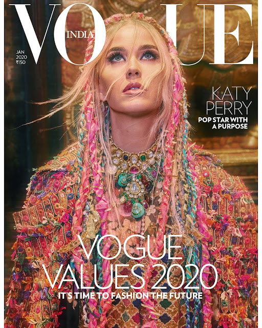 American singer, Katy Perry is the latest cover star of Vogue India. For the magazine's January 2020 edition, she engages in a candid interview; one which sees the singer open up about her battle with depression.