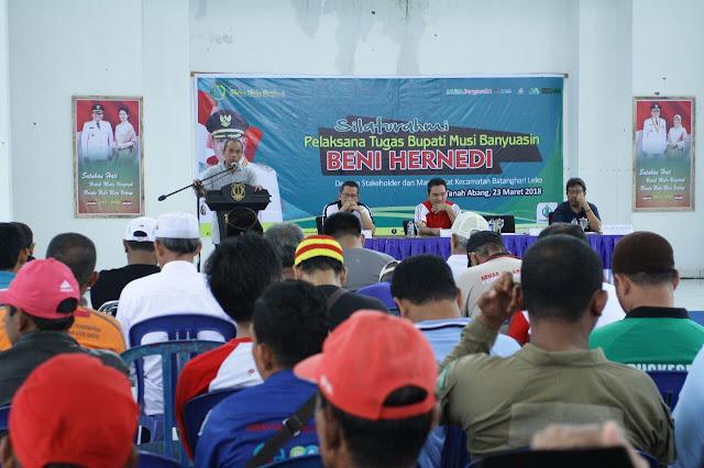 Kecamatan Batang Hari Leko Akan Dibangun Masjid Raya