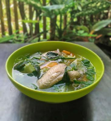 Resep Sayur Sop  Sayap Ayam