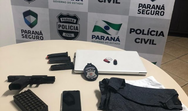 Polícia Civil faz buscas na casa de Policial Militar suspeito de homicídio em Foz