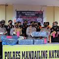 Polres Madina Kembali Tangkap dan Gagalkan Peredaran Narkoba Antara Provinsi