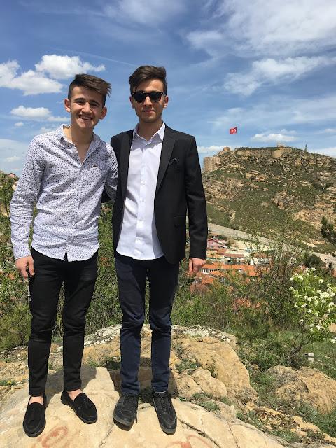 Kubilay Kılıçoğlu ve Harun İstenci Kastamonu Kalesi Mezuniyet 2019 - Mayıs 2019