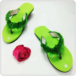 Sandal Lisban Bulu GSJ