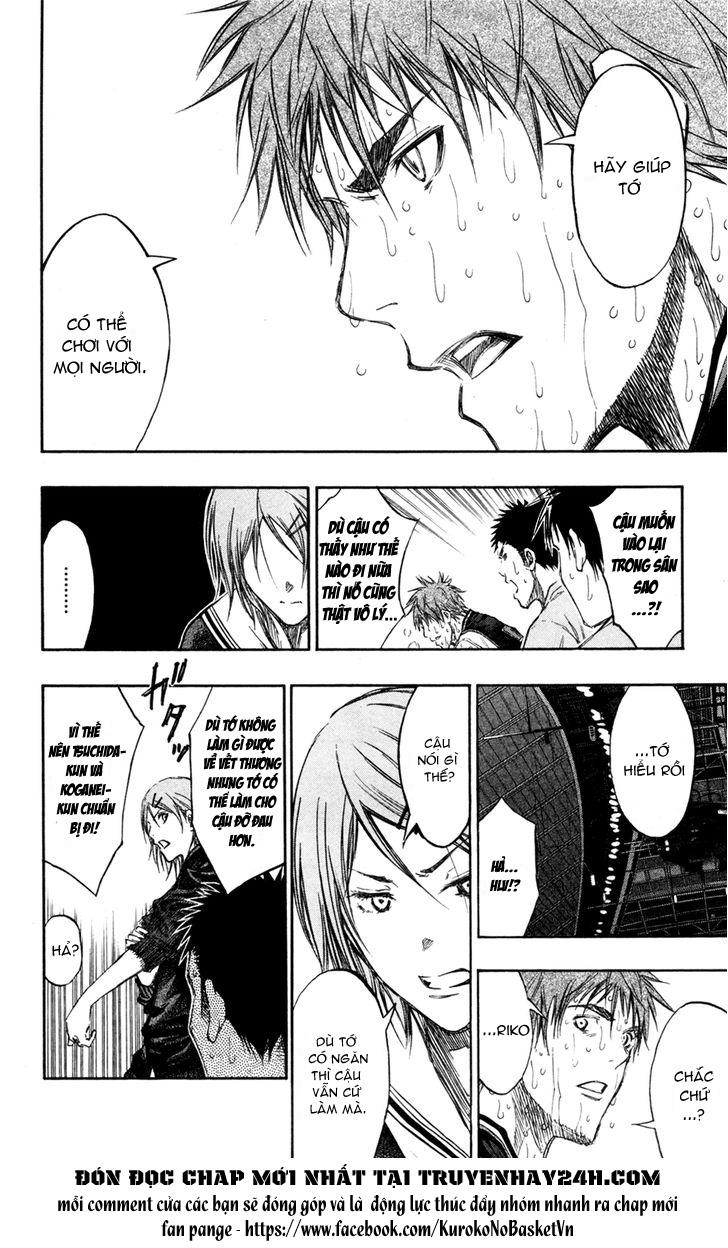 Kuroko No Basket chap 161 trang 4