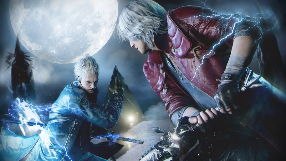 Dante vs. Vergil, Devil May Cry 5, 4K, #7.2467