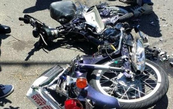 Dos personas resultan muertas en accidente de motocicletas en Batey Dos, Neyba