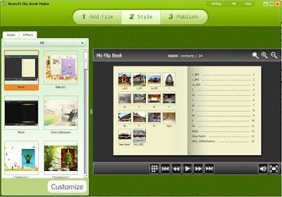 free pdf flip book maker