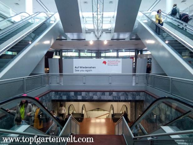 Abschied von der Frankfurter Buchmesse am Sonntag - Blog Topfgartenwelt