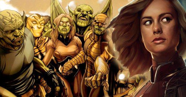 Asal-Usul dan Kekuatan Skrull, Musuh Captain Marvel di Film Pertamanya