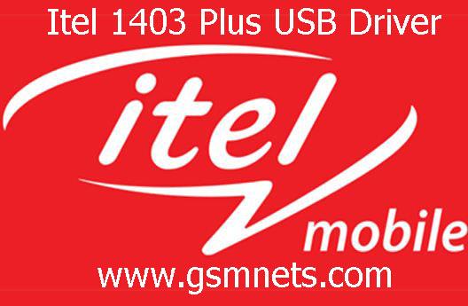 Itel 1403 Plus USB Driver Download