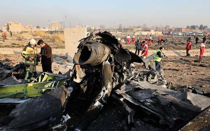 Avião pode ter sido derrubado por míssil do Irã; 176 morreram