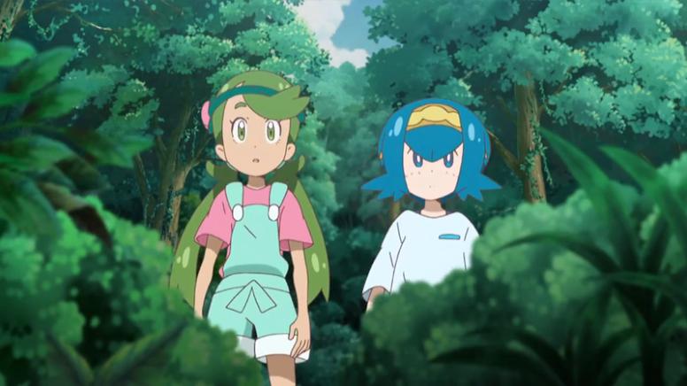 Lulú e Vitória Anime Pokémon
