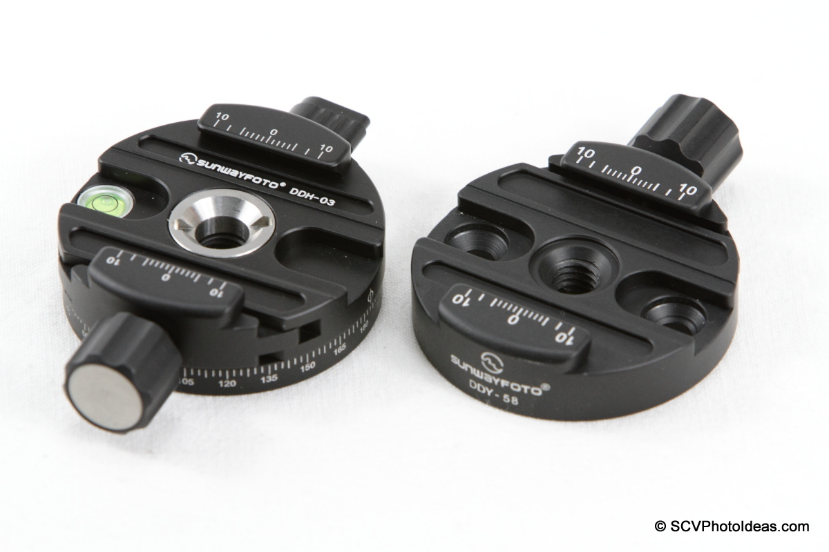 Sunwayfoto DDH-03 Panning Clamp w/ DDY-58 Discal QR Clamp