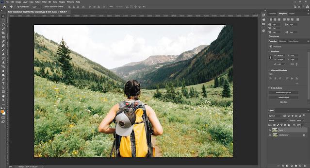 Cara Mengganti Awan di Photoshop 2021 otomatis