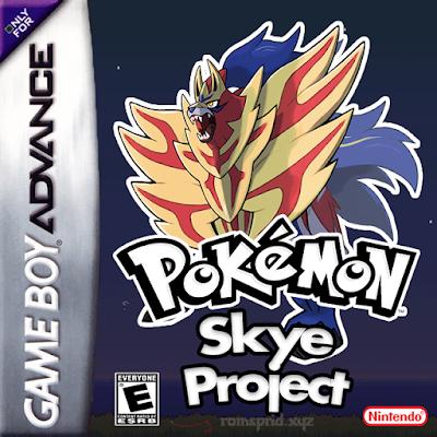 Pokemon Skye Project gba rom hack