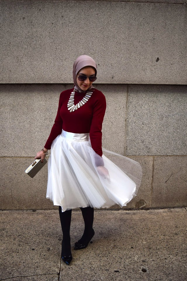 A Day In The Lalz; Holiday Classics; Fashion Blog; Holiday Style; Fashion Blogger; HIjabi Style; Winter Style Look
