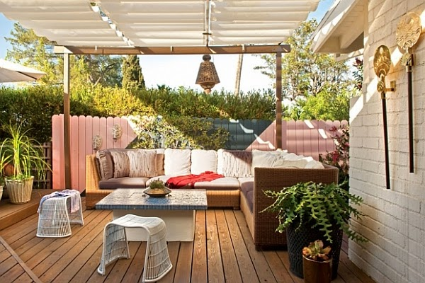 Stunning backyard deck and patio design