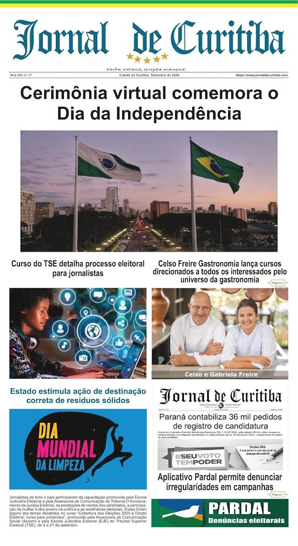 Jornal de Curitiba Setembro 2020