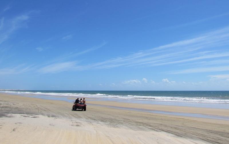 Passeio de Buggy na Praia de Lagoinha