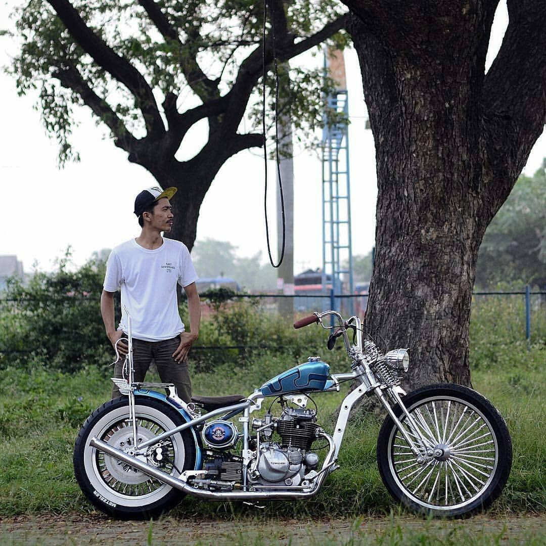 Inspirasi Modifikasi Motor Custom Chopper & Bratstyle