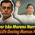 MUST WATCH: Mayor Isko Moreno Narrates Good Life During Marcos Period