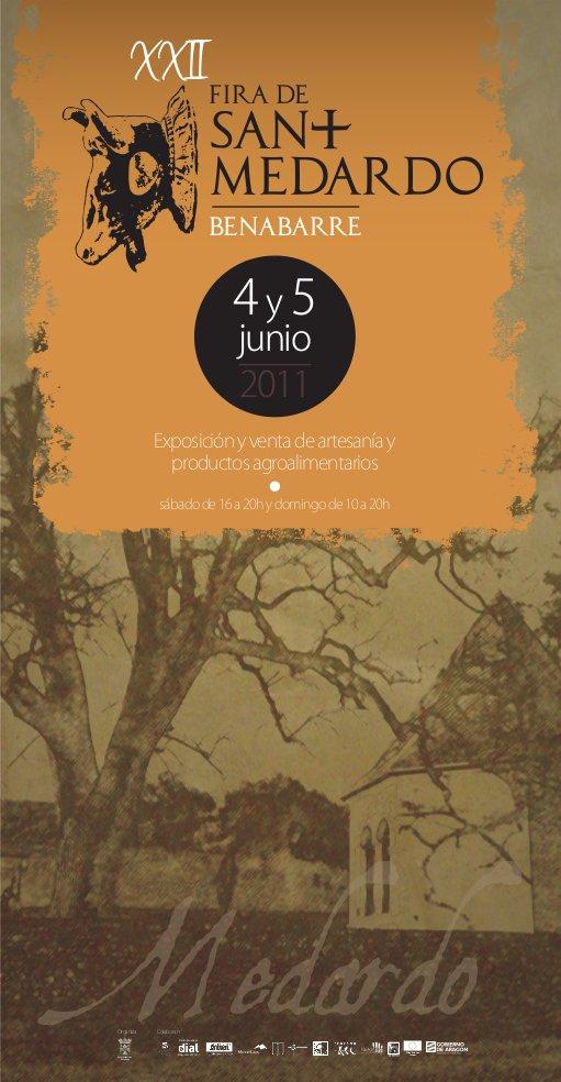 Cartell de la Fira de Sant Medard de l'any 2011