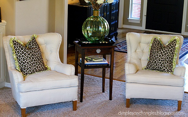 Funky Chairs and Fur Stools - Dimples and Tangles