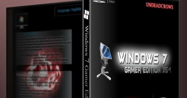 windows 7 gamer undeadcrows product key