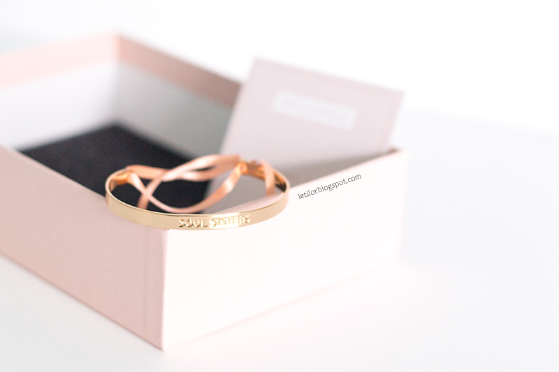Birchbox à nos amours, février 2016 , bracelet