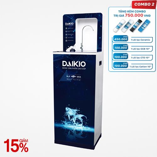 Máy lọc nước cao cấp Daikio DKW-00007A- Đen-7 cấp